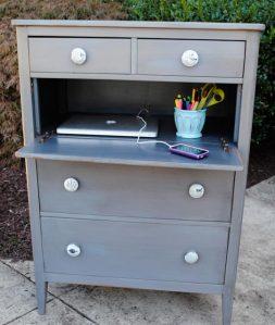 Dresser to desk