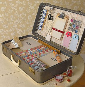 Suitcase craft kit