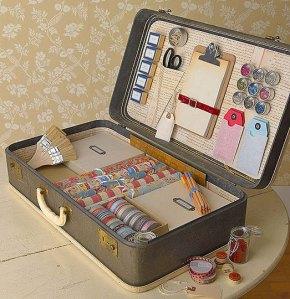 Suitcase craft kit